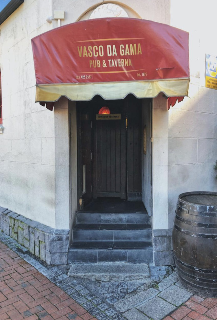 Vasco's in Greenpoint, the Portuguese embassy