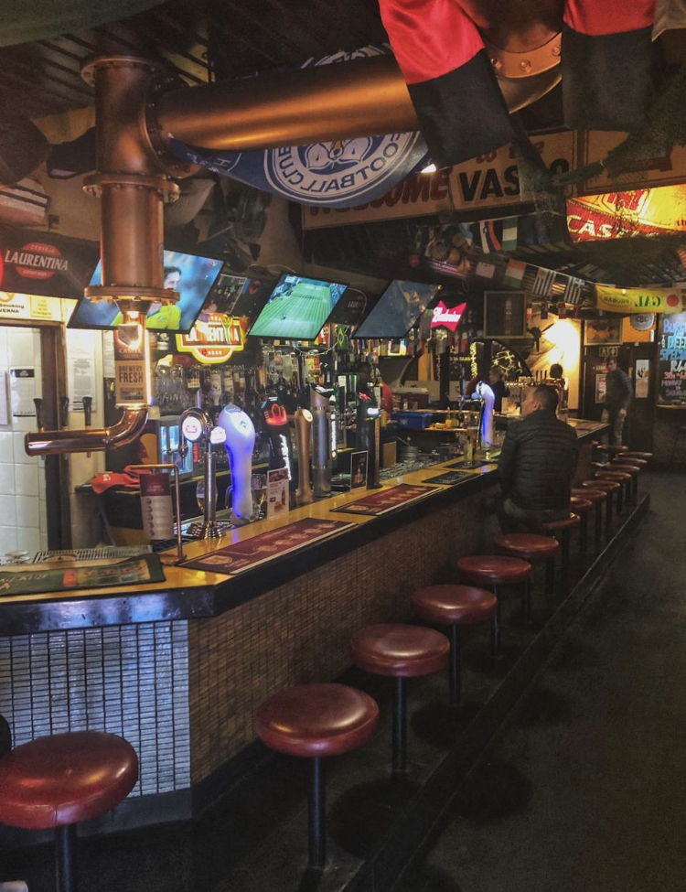 The Castle Bar at Vasco's